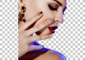 化妆卡通,环,嘴唇,手指,下巴,手,眉毛,脸颊,手型,睫毛,指甲护理,
