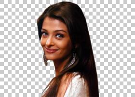 印度女人,时尚模特,分层头发,棕色头发,染发,前额,黑发,长发,发型