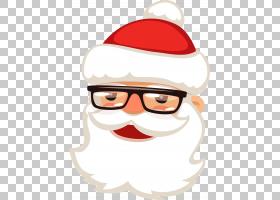 卡通圣诞帽,卡通,小胡子,头盔,鼻子,面部毛发,眼镜,帽子,圣诞装饰图片