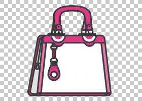 女卡通,洋红色,线路,挂锁,面积,粉红色,时尚,女性,女人,包,手提包图片