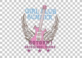 吉他卡通,电吉他,洋红色,徽标,吉他,文本,弹拨弦乐器,吉他配件,弦