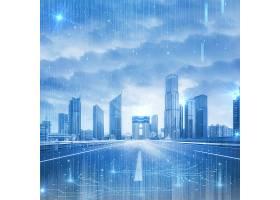 智能科技未来科技风背景