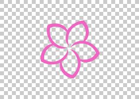 粉红色花卡通,洋红色,线路,飞蛾与蝴蝶,圆,传粉者,符号,心,粉红色