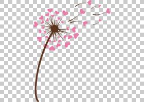 粉红色花卡通,线路,植物茎,分支,花卉设计,切花,花瓣,开花,叶,植