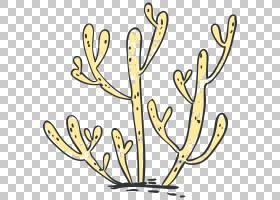 海洋主题海洋生物元素文艺清新简洁手绘插画免扣素材