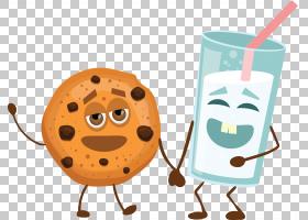 曲奇饼Q版食物类卡通形象免扣素材