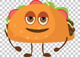 汉堡包三明治Q版食物类卡通形象免扣素材
