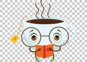 咖啡Q版食物类卡通形象免扣素材