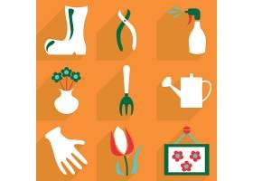 小清新简洁家居植物修建工具物品图标设计