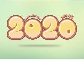 2020卡通字体设计
