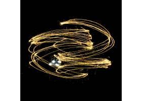流光线条闪耀火花元素素材