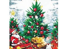 时尚平安夜圣诞节主题装饰元素海报设计