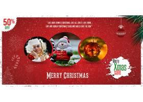 平安夜圣诞节主题banner背景