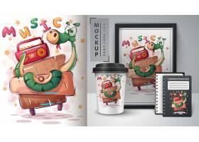 清新可爱的卡通印刷日常物品设计