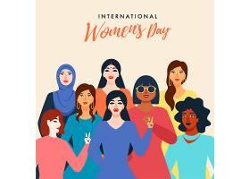 妇女团插画