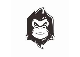 猩猩主题LOGO设计
