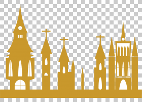 EID Al Adha背景黄,线路,黄色,天际线,文本,建筑,Adha,宰牲节Al A