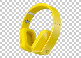 耳机卡通,音频设备,技术,音频,黄色,蓝牙,高端音频,头戴式耳机,数