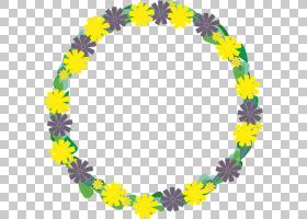 花卉背景,线路,紫罗兰,雷磊,圆,蓝色,花卉设计,叶,加兰,花,黄色,