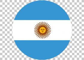 太阳卡通,徽标,面积,线路,圆,花,黄色,五月的太阳,旗帜,阿根廷国