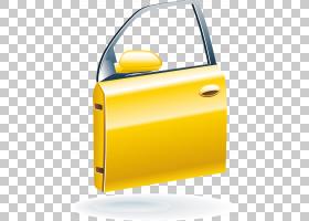 背景黄色框架,矩形,车门,线路,车辆,黄色,材质,技术,紧凑型轿车,