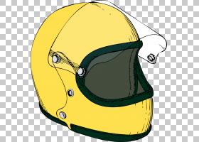 自行车卡通,体育器材,头盔,个人防护装备,黄色,滑雪头盔,自行车,图片