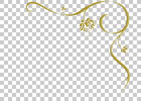 花卉复古,线路,植物茎,分支,花,黄色,身体首饰,花瓣,植物群,植物,
