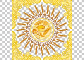 传单背景,商品,视觉艺术,线路,水果,符号,圆,面积,向日葵,花,黄色
