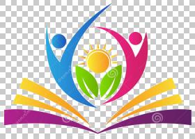 学校学生,花瓣,符号,圆,面积,线路,叶,花,黄色,研究,学生,书,学校