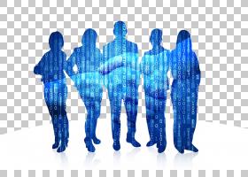 高级管理蓝,团队,人,人体模型,关节,塑料,电蓝,招聘人员,外衣,站