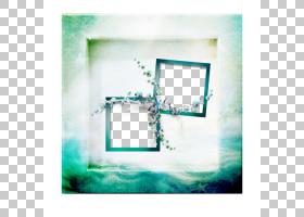 浅绿色背景,矩形,技术,绿色,正方形,蓝花,蓝光技术的效果,蓝绿色,