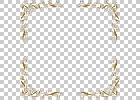 蓝花边框和框架,矩形,边界,线路,身体首饰,线条艺术,相框,黄色,Pi