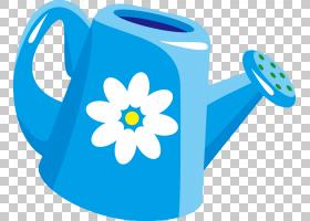 淋浴卡通,字体,设计,花,蓝色,花园,电热水壶,厨房用具,卡通,茶壶,