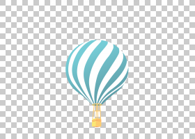 热气球卡通,线路,天蓝色,绿色,水,绿松石,蓝色,卡通,航空,平面设