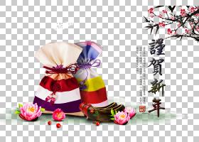 春节花卉背景,花,花瓣,韩国,农历新年,假日,年份,包,传统,礼物,Fu