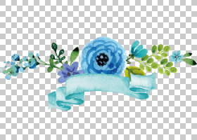 水彩花卉背景,蓝色,文本文件,计算机软件,花,水彩画,
