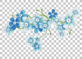 水彩花卉背景,首饰制作,花卉设计,珠子,琉璃苣家族,发饰,植物群,