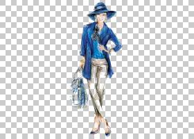 水彩卡通,服装,服装设计,时装设计,时尚模特,涂鸦,鳄鱼,水彩画,绘