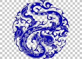 中国龙,黑白,圆,线路,线条艺术,符号,文本,面积,视觉艺术,点,中古