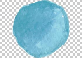 水彩背景,水,天蓝色,绿松石,灰色,绘图,水彩画,蓝色,