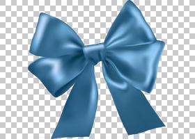 功能区蝴蝶结功能区,缎子,丝绸,水,领带,电蓝,蝴蝶结,蓝色,白丝带
