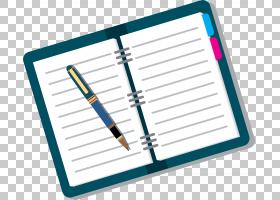 卡通书,办公用品,线路,材质,预览,文档,商人,免费,蓝色,书,笔,