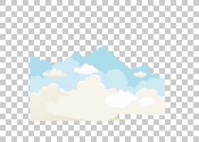 卡通云,线路,白天,天气,景观,白色,云,天空,蓝色,