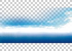 卡通地球,云,地球大气层,波浪,地平线,冷静,气象现象,海洋,白天,