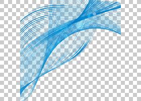 卡通平面,羽毛,天蓝色,水,电蓝,平面,圆,角度,螺旋,风浪,形状,曲