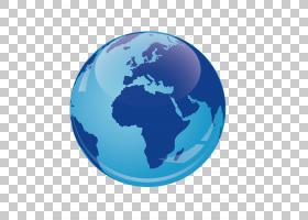 卡通星球,球体,行星,蓝色,卫星图像,世界地图,地图,飞行,飞机,地