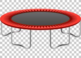 蹦床卡通,矩形,户外餐桌,红色,体育,空翻,家具,跳板,蹦床,蹦床,表