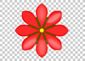花卉剪贴画背景,红色,线路,花,切花,花瓣,对称性,植物群,饮食,精