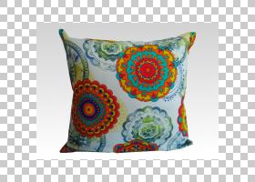 红花,扔枕头,花,绿松石,红色,纺织品,枕头,扔枕头,垫子,