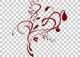 黑白花,黑白,线条艺术,面积,心,分支,花瓣,线路,爱,叶,文本,花,红